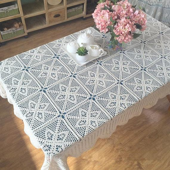 New Crochet Design American Country Living Vintage Style Chic