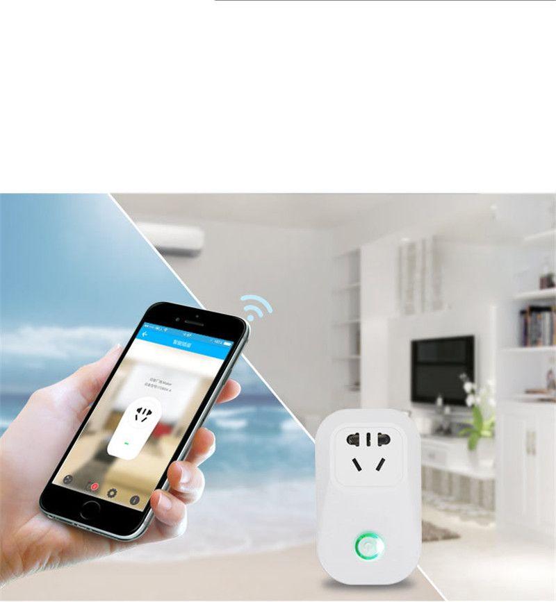 Sonoff S20 Smart Wifi Interruptor Socket Itead EE. UU. UE Enchufe de Control Remoto Interruptor de Interruptor de Temporización para Smart Home Automation OTH724
