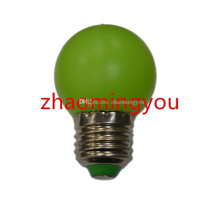 G45 LED E27 1W Mini Ampoule Lampe Économie d'énergie 110-220V Veilleuse Décoration Blanc / Rouge / Bleu / Vert / Jaune / Rose /