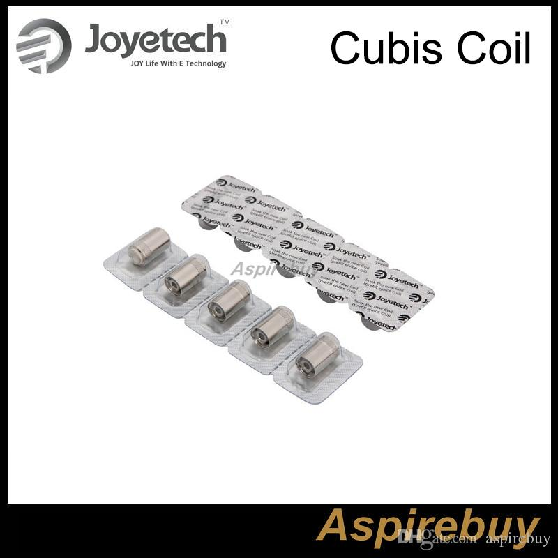 Cabeza atomizador original Joyetech Cubis Cubis BF bobina Joyetech Con SS 316 0.5ohm 1.0 Ohm 0.6ohm Bobinas Clapton bobina 1.5ohm Joyetech Cubis bobina