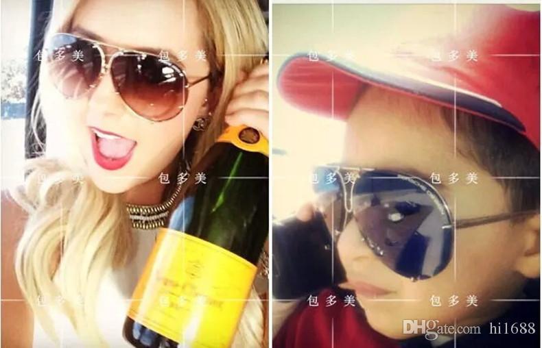 العلامة التجارية مصمم النظارات الرجال النساء أزياء P8478 الصيف بارد نمط الاستقطاب النظارات الشمسية النظارات 2 مجموعات عدسة 8478 مع حالات