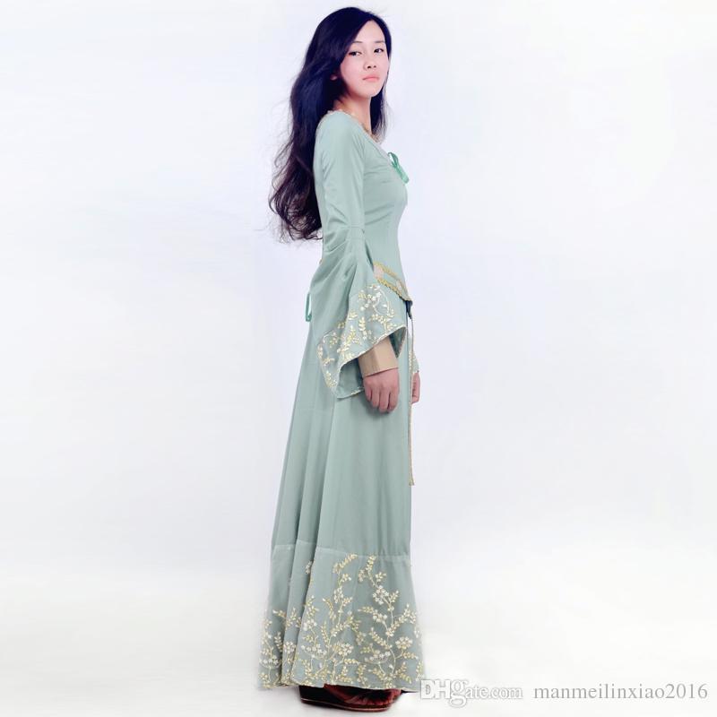 HOT Movie Maléfique Princesse Aurora Cosplay Costume Pour Adultes Dormir Beauté Robe Longue Fantasia Halloween Personnalisé