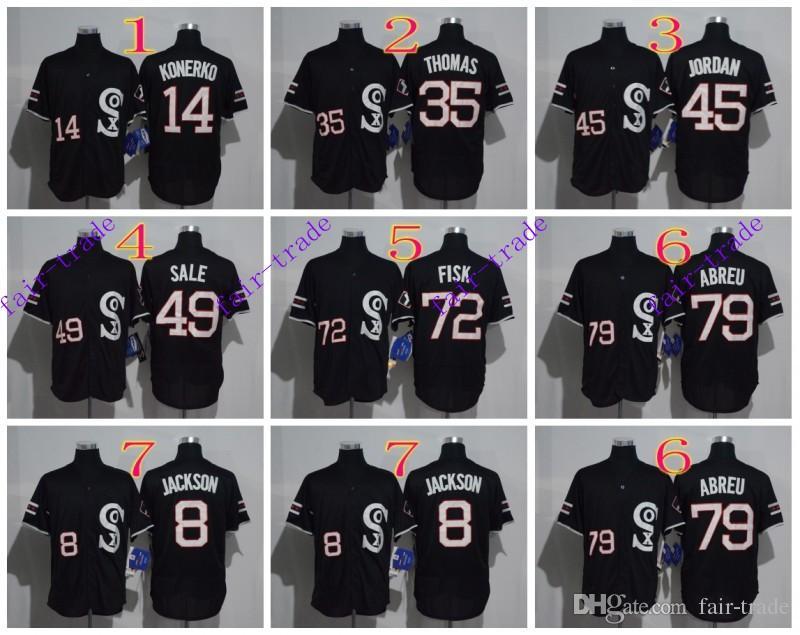 40a39650d14 ... Jersey 45 Michael 2017 Chicago White Sox 8 Bo Jackson 14 Paul Konerko  35 Frank Thomas 2016 Mlb Baseball ...