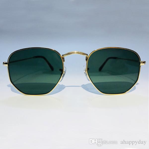 Avec Marque Lentille 3548n Haute Soleil 15 Qualité G Pour Métal Verte Classiques 51mm Lunettes En HommesMonture Femmes De QCeWEroxBd