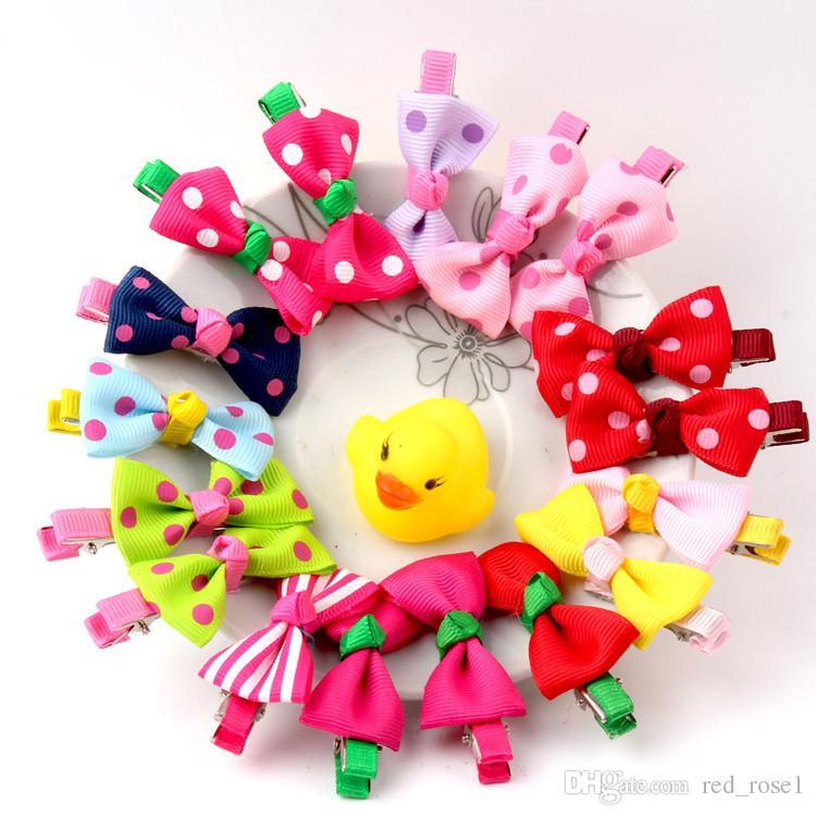 2021 어린이 소녀 헤어 클립 아기 헤어 액세서리 사랑스러운 웨이브 포인트 BB 클립 소녀 생일 선물 아이 바렛