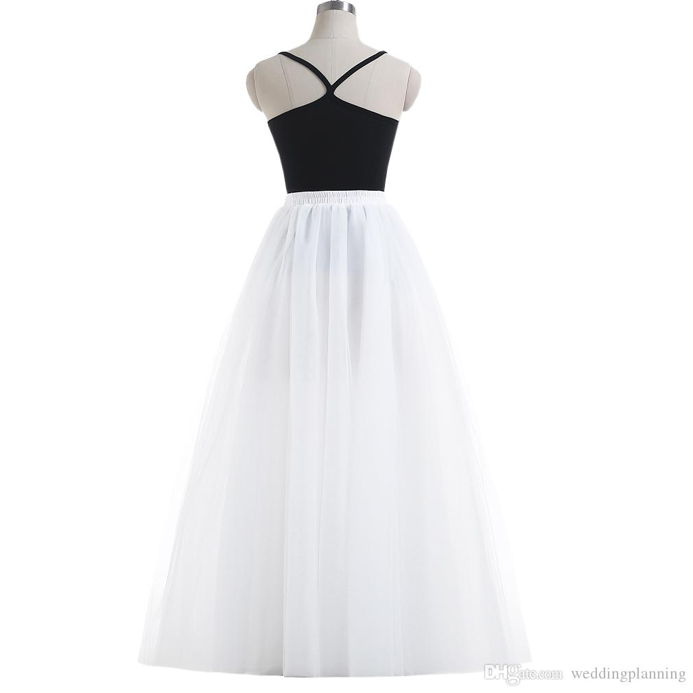Special link for your emergeny fee women new skirts tutu long skirt for girl peticoats bridal wear high quality tulle material skirts