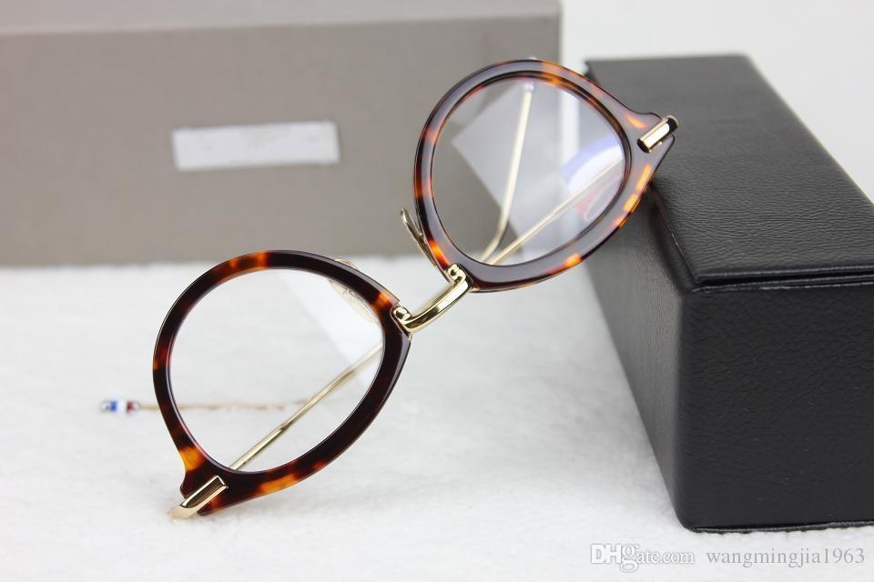 Lunettes de soleil Cadres TB-011 monture de lunettes cadre de planche en alliage restauration des moyens anciens oculos de grau hommes et femmes montures de lunettes de myopie