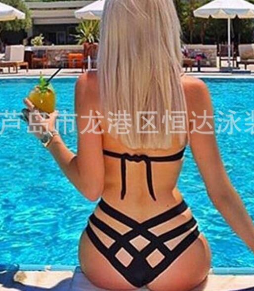 Seksi Bikini mayo bayanlar moda çok halat mayo örgü seksi bikini bikini bayanlar mayo sıcak satmak mayo kadın dış ticaret