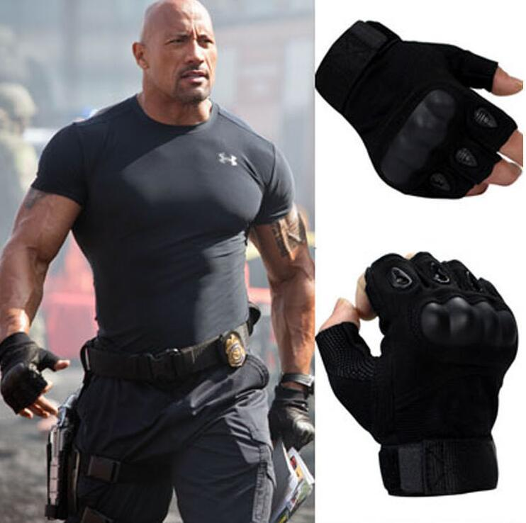 Thin Tactical Gloves Men Outdoor Half Finger Sports Gloves Antiskid Bicycle Gloves Wearable Fingerless Gym Glove Luva Tatical
