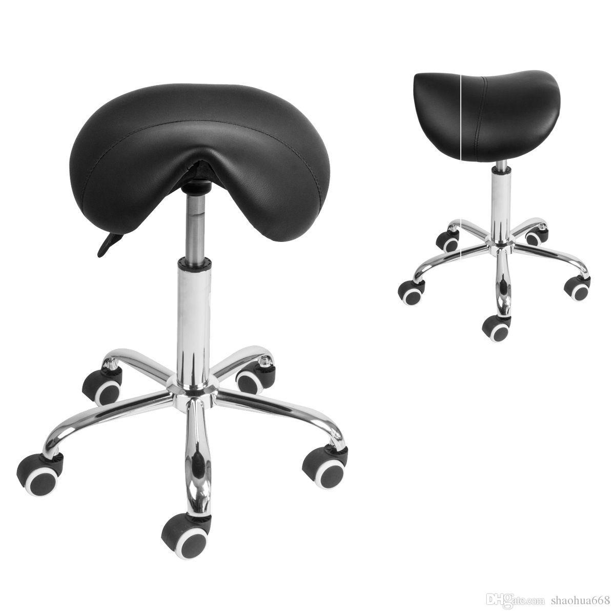 White Rolling Chair 2017 Hydraulic Adjustable Stool Facial Salon Massage Spa Dental