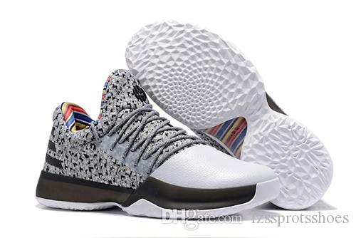 2019 2017 New Harden Vol. 1 Mens Basketball Shoes Black White Orange Red  Wholesale Fashion James Harden Shoes Sneakers Size 40 46 With Box From ... b6517a046510