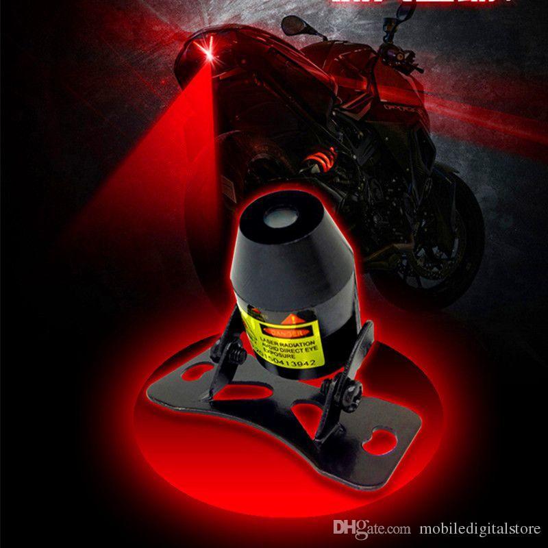 Car Warning Laser Tail Fog Light Auto Brake Parking Lamp
