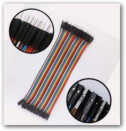 Dupont line 120pcs 20cm male to male + male to female and female to female  jumper wire Dupont cable for arduino Wholesale