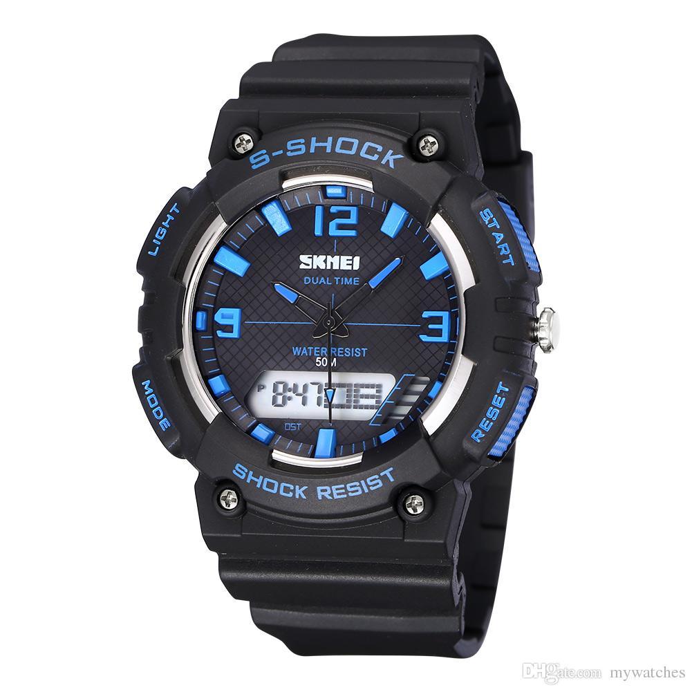 Digital Watches 2018 Skmei Brand Watches Men Military Led Digital Watch Man Dive 50m Fashion Outdoor Sport Wristwatches Clock Relogio Masculino