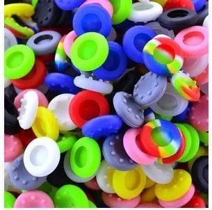 1000 unids / lote Soft Skid-Proof Flicthsticks Thumbsticks Cap Thumb Gaps Gorras Palanca de joystick Cubiertas Publicaciones Funda para PS3 / PS4 / XBOX ONE / XBOX 360 Controlers