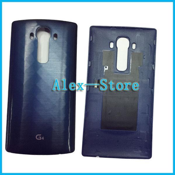 Tapa de la tapa de la batería para LG G4 H815 VS986 H810 H818 tapa trasera compartimiento de la batería Con NFC en stock