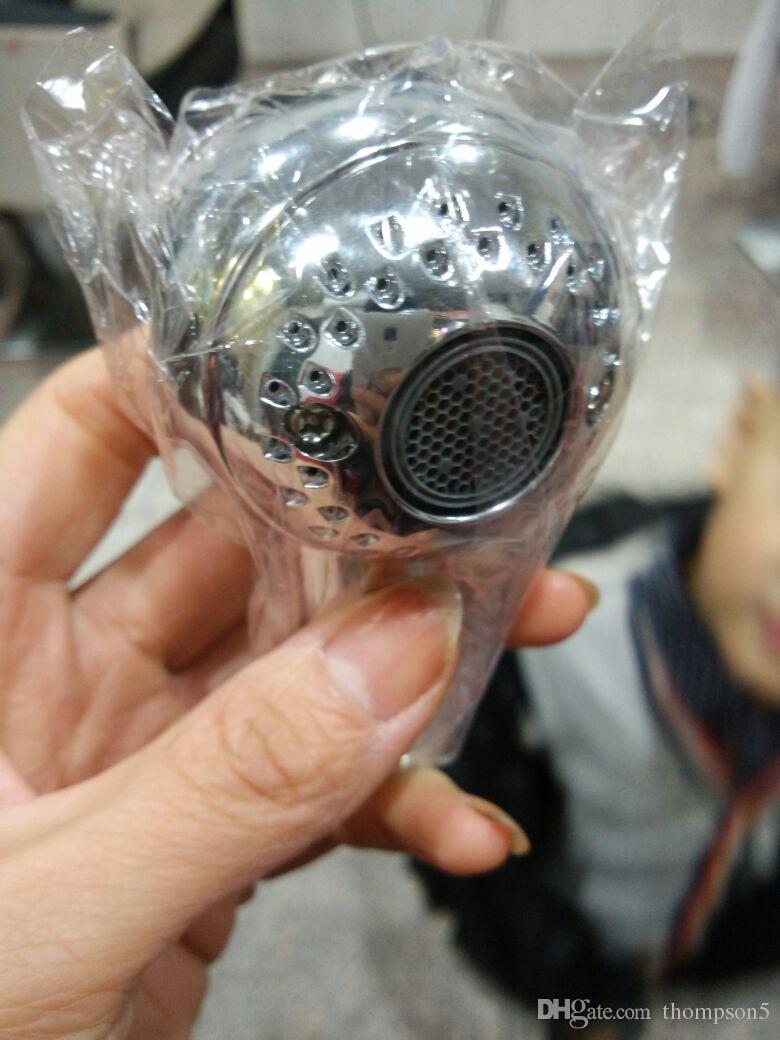 작은 술 샤워 헤드 ABS 플라스틱 바티로 모 샴푸 노즐 샤워 다기능 아기 아이 분무기 노즐
