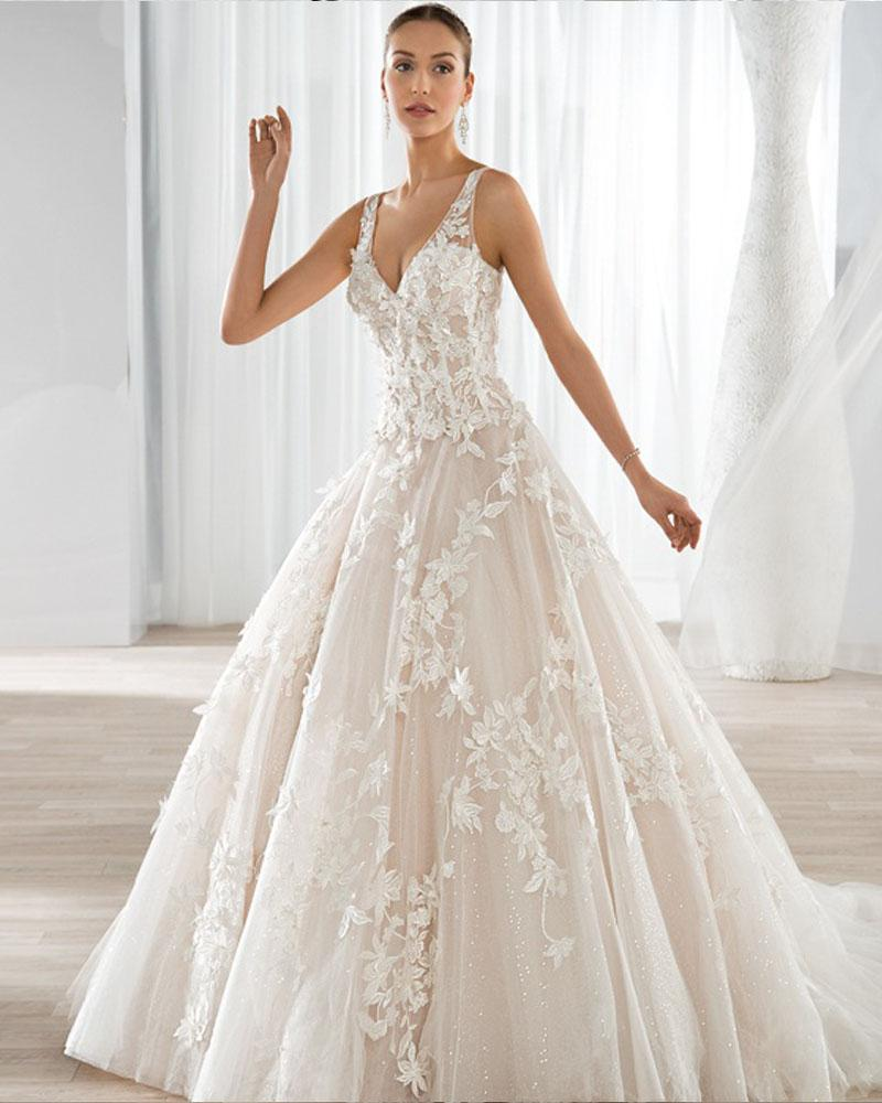 2016 New Design Enchanting A Line Wedding Dresses There Are Lines