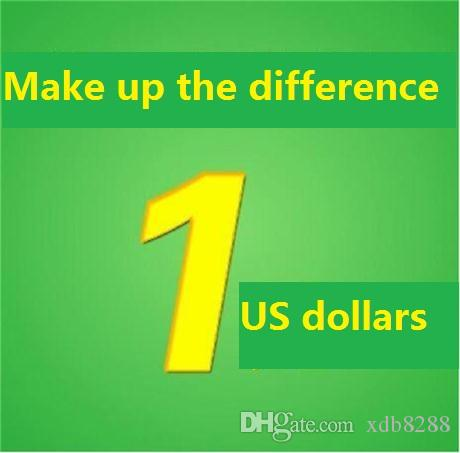 1usd Supplementary postage / price difference Supplementary Postage Fees Other Difference