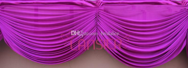 Table de mariage Swags for Event Party Decoration Fournitures de mariage