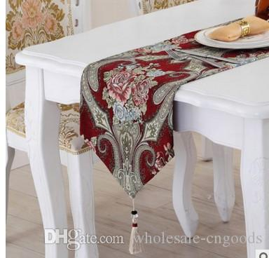 European luxury gift Chinese American country TV cabinet table cloth chenille cloth bed, bed towel