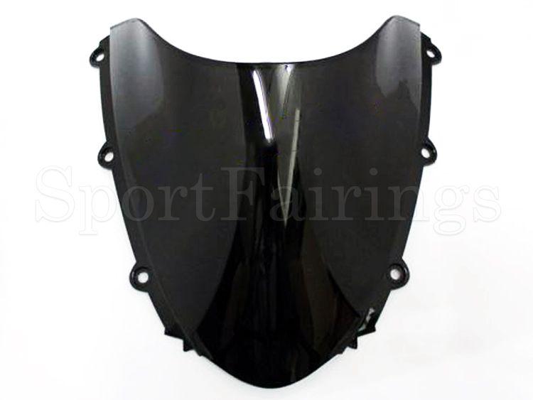 Getönte Einspritzung ABS Plastikdoppelte Luftblasen-Windschutzscheibe für Honda CBR1000RR Jahr 2004 2005 2006 2007 Windschutzscheibe
