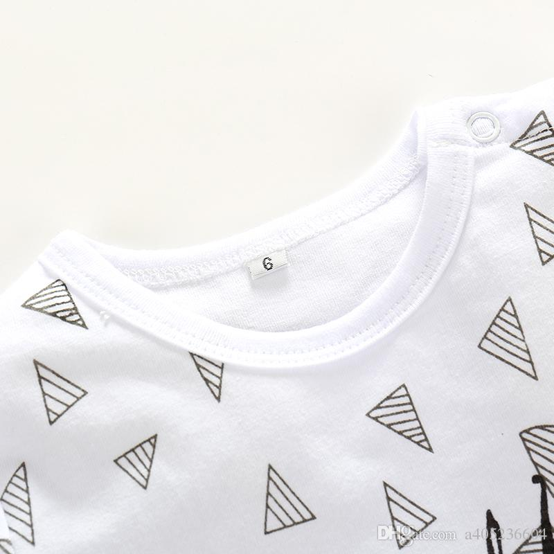 Fashion Newborn rompers Baby boy Romper branded Newborn baby clothes jumpsuit doll long Sleeve Baby boy Clothes christmas