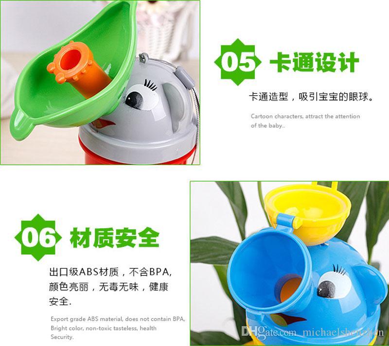 Baby Cartoon tragbare urinal kinder Töpfchen Tragbare Reise Urinal Stretch Auto Wc Für Junge Mädchen Kinder urinal B001
