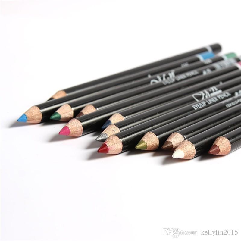 Maquillaje Lápices de ojos M.n es Impermeable Eyebrow Beauty Pen Sombra de ojos Liner Palitos de labios Lápiz de cosméticos delineadores