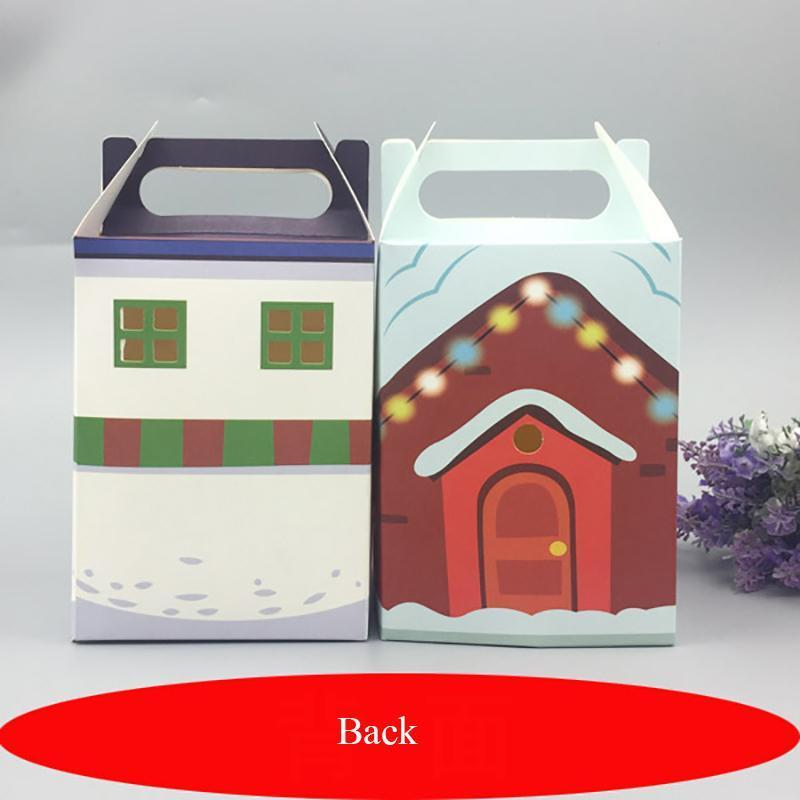 20pcs Multi Colors Packaging Candy Box Party Cake Dessert Paper Christmas Box Festival Gift Wrap Candy Box