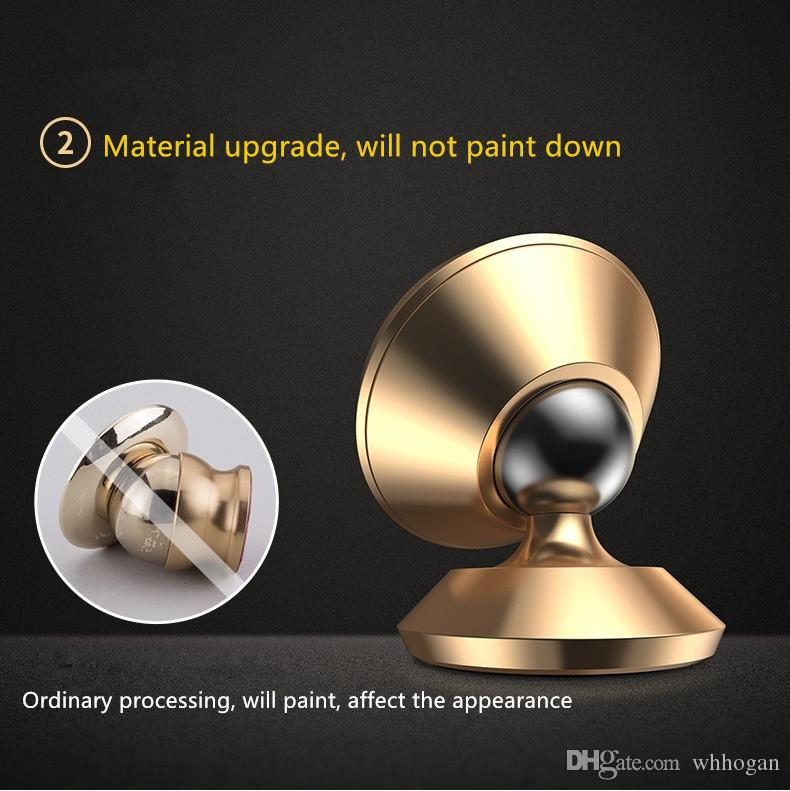 Universal Aluminum alloy Air Vent Magnetic Holder Car Mount Dashboard Mount Stand Phone Holder for Smartphones car phone holders