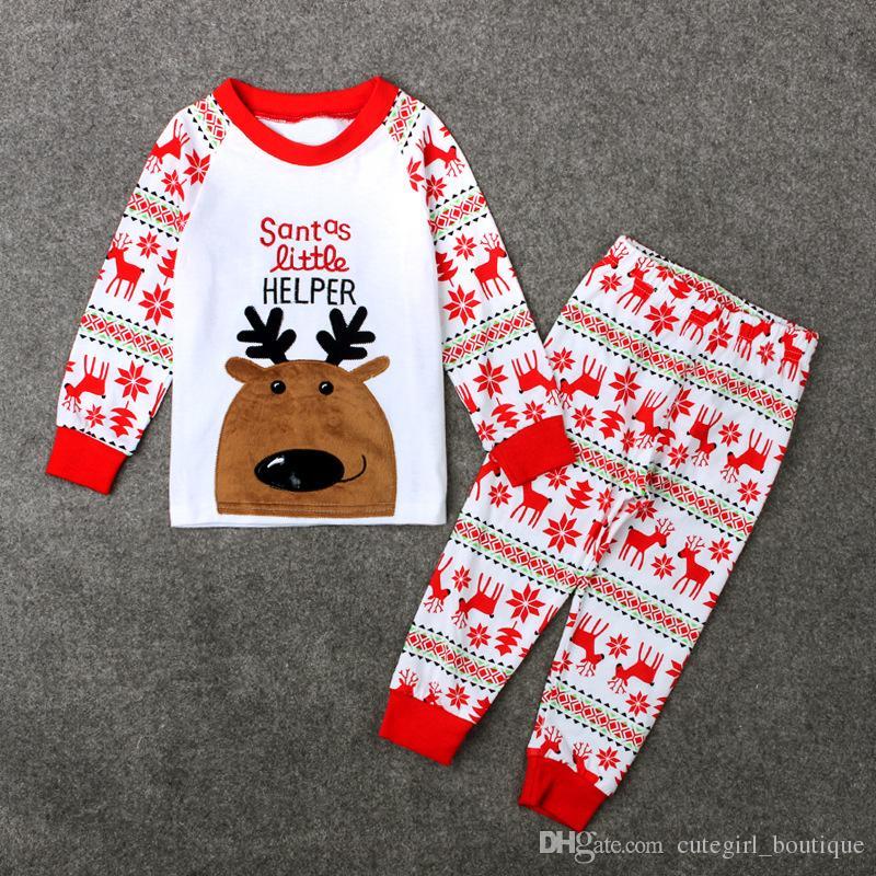 2016 heiße weiße Spitzenweihnachtsweihnachtskindkindbabyren des neuen heißen Entwurfs keucht Boutiquemädchen-Kleidungssätze