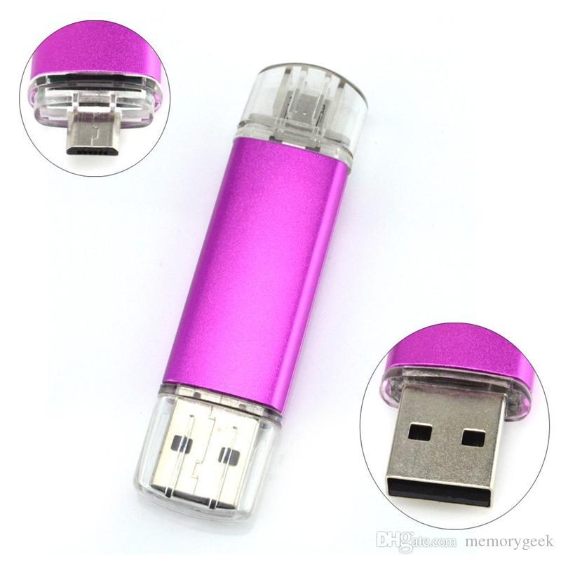 64GB 128GB 256GB OTG внешнее запоминающее устройство USB 2.0 флэш-накопитель для Android смартфонов ISO планшеты флешки U диск флешки