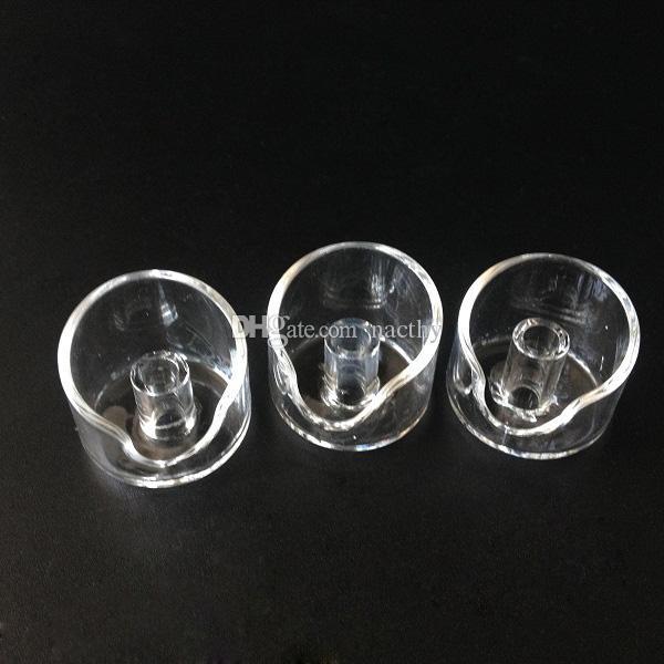 DHL libero 4mm di spessore club domeless quarzo banger chiodo + quarzo carb cap 100% vere viti di quarzo tubi di vetro