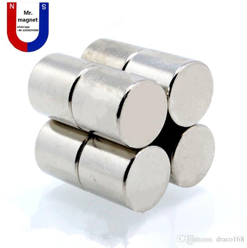 12mm x 12mm Super starker Magnet D12 * 12mm, D12x12mm Magnete 12x12 Permanentmagnet 12x12mm Seltene Erden 12mmx12mm Magnet 12 * 12