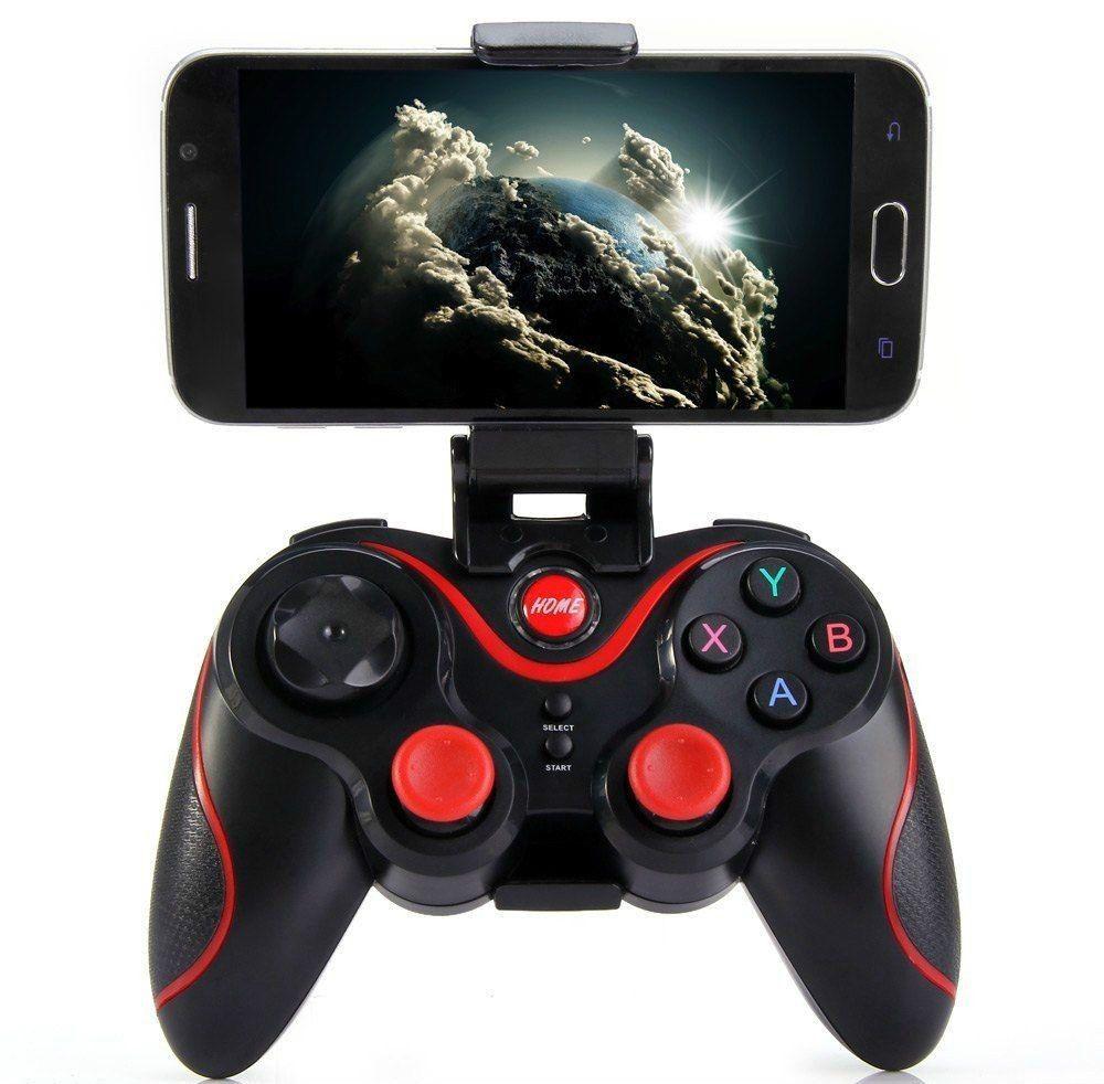 Controlador de jogo sem fio bluetooth gamepad para android phone tv box tablet pc gamepad dhl frete grátis