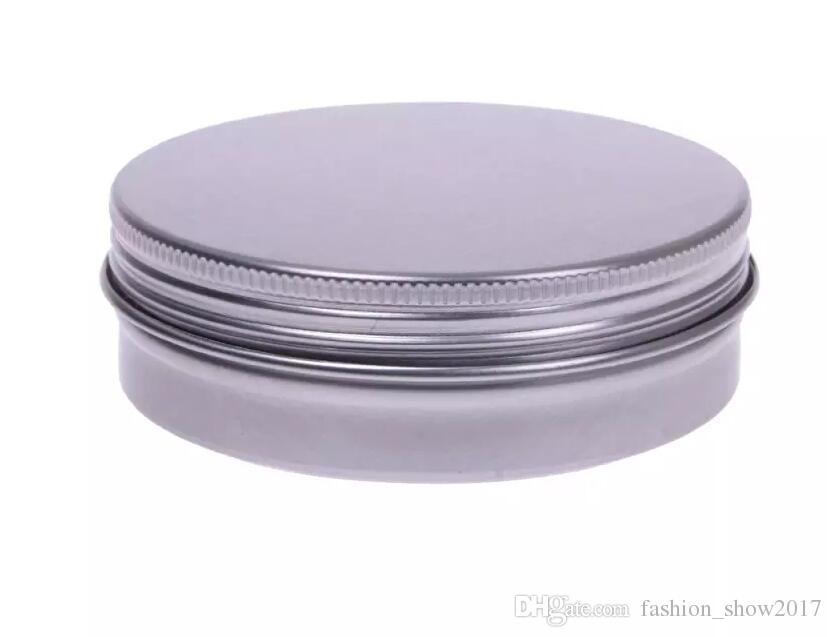 Пустые алюминиевые сливки банка TIN 5 10 15 30 50 100 г Косметические бальзама для губ Контейнеры для ногтей Вывоз ремесел горшок бутылка