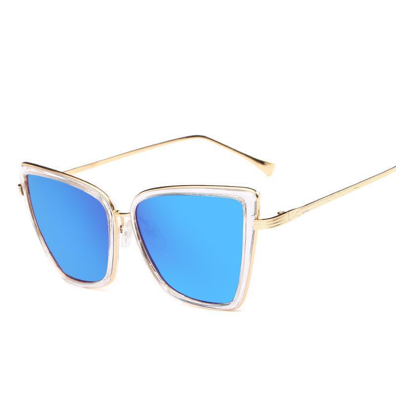 679f336a013 High Quality Designer Sunglasses For Women With Big Box Square Brand ...