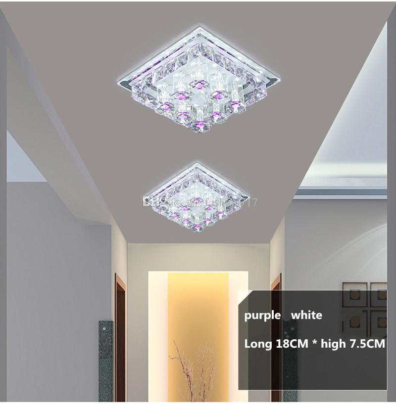 Großhandel 12W Gang LED Deckenlampe Wohnzimmer Kristall Ganglichter LED  Deckenleuchten Luces De Techo Von Fashion717, $60.31 Auf De.Dhgate.Com   ...