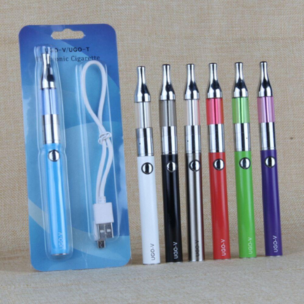 UGO-V EVOD eGo Kit UGO V 650 900 mah USB Passthrough battery with Electronic Cigarettes Mini Protank Tanks vape pens Blister Kits