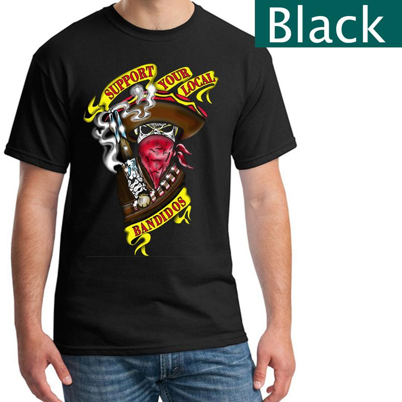 ff5e874abf SYLB Support Your Local Bandidos T Shirts Black Printed Tee Funny Screen  Tees Shirts With Design From Wangyihan2013, $8.66| DHgate.Com