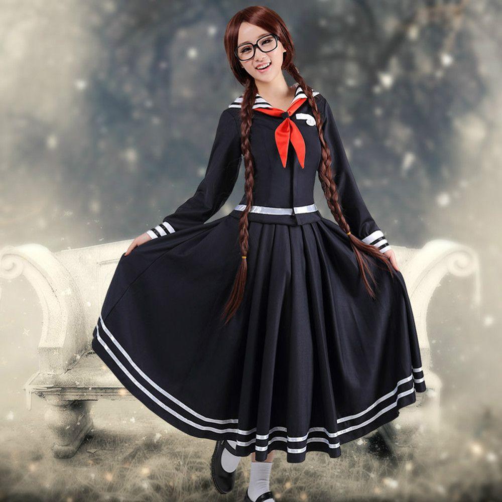 Wholesale Anime Danganronpa Kusakawa Fuyuko Cosplay Costume For ...