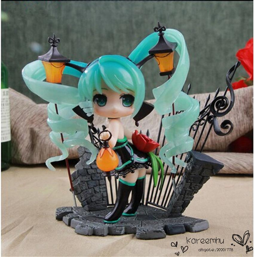 Anime Vocaloid Hatsune Miku Lamp Feat Nekozakana Alphamax Pvc Action Figure Model Collection Toy New In Box 15cm 12 Inch Military Figures For Sale