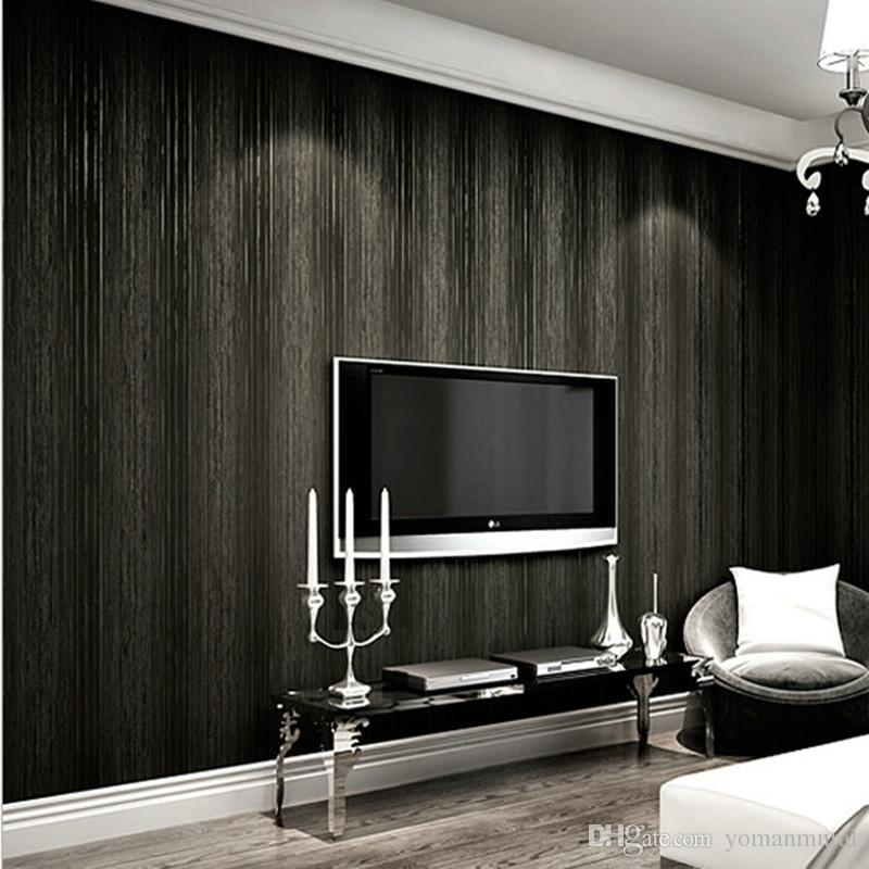 10M Luxury Modern Wallpaper Simple Style 3D Non-woven Wall Paper ...