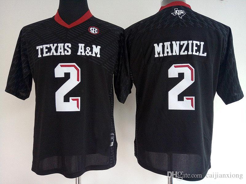 2019 Cheap Womens  2 Johnny Manziel Red White Black Womens College Texas  A M Aggies Football Jerseys From Hyjerseys b2d6be61c0