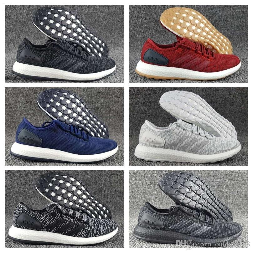 544b9af3f Adidas Originals Ultra Boost 3.0 2018 Running Shoes Men Women High Quality  Ultra Boost Hypebeast Primeknit Core Black White Athletic Shoes Basketball  Shoes ...