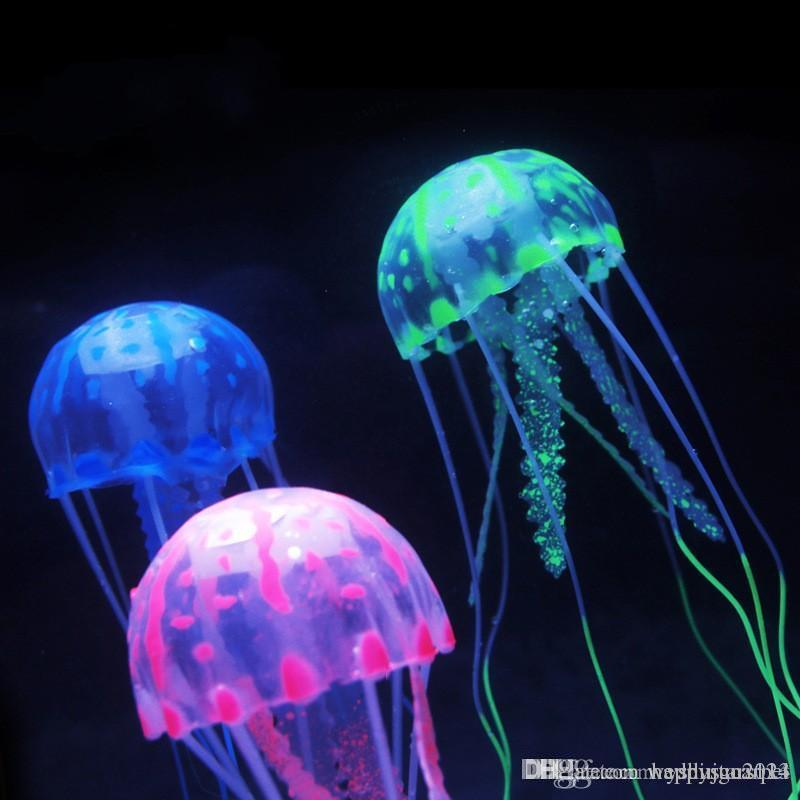 Jelly Fish Lamp Jellyfish Lamp With Simulated Ocean Background Jellyfish  Aquarium Tank Healing Nightlight Creative Gift Home Decoratives Home  Decorator From ...