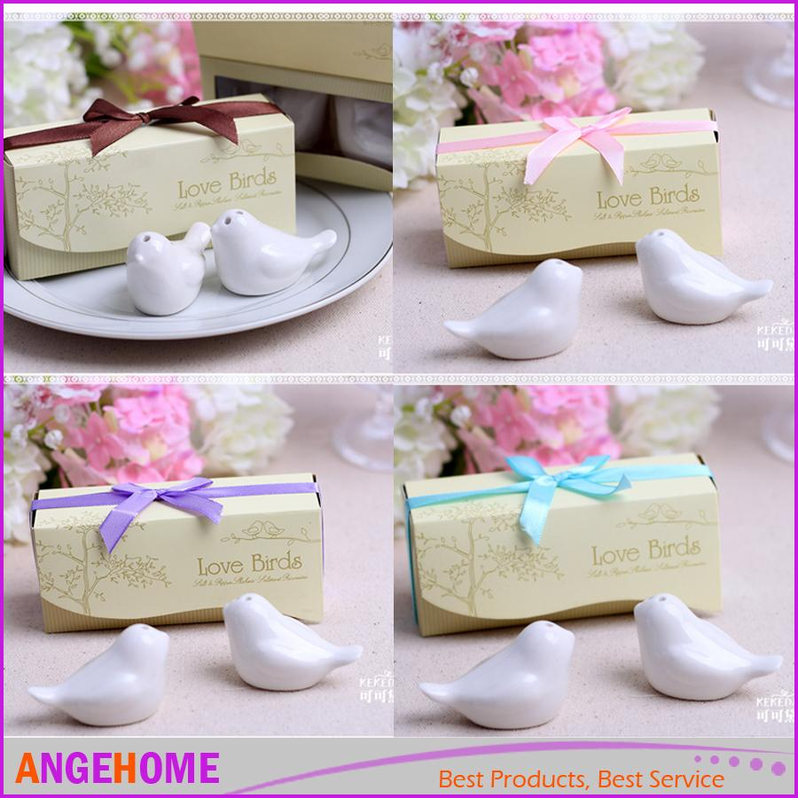 Wedding Favors And Gift Love Birds Salt And Pepper Shaker Party ...