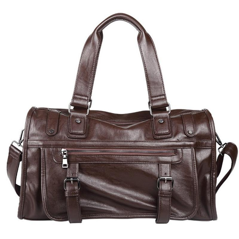 Fashion Extra Large Weekend Duffel Bags Big Pu Leather Business ...
