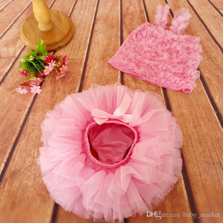 15% off!!! Baby Girls Tutu Skirt + Headband Infant bubble Dance ball Gown Ballet Skirt Infant Newborn Photography props costume BN